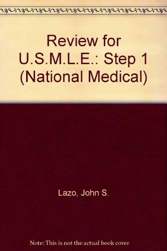 9780683062090: Review for USMLE: United States medical licensing examination, step 1 (The National medical series for independent study)