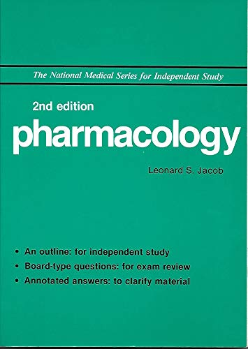 9780683062489: Pharmacology (National Medical Series for Independent Study/Wiley Medical Publication)