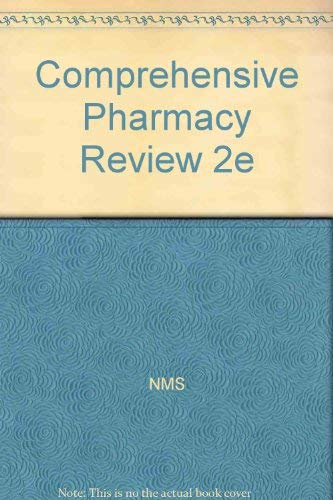 Comprehensive Pharmacy Review 2e: NMS