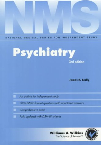 9780683062632: Psychiatry (National Medical Series for Independent Study)