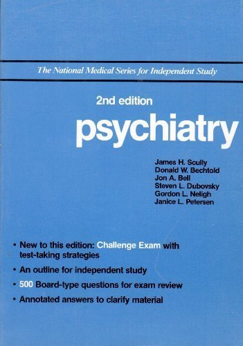 9780683062649: NMS: Psychiatry (National Medical Series for Independent Study)