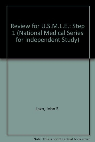 9780683062656: Review for Usmle: United States Medical Licensing Examination, Step 1 (National Medical Series for Independent Study)