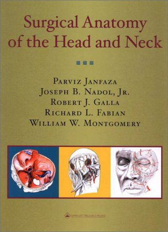 9780683063028: Surgical Anatomy of the Head and Neck