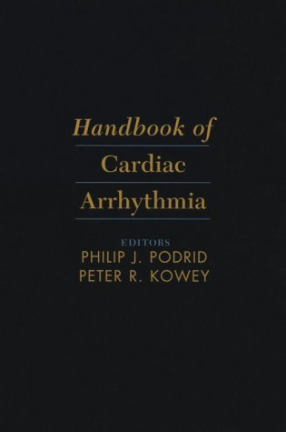 9780683069099: Handbook of Cardiac Arrhythmia