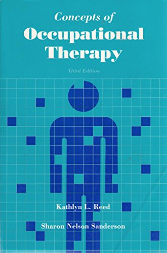 9780683072075: Concepts of Occupational Therapy