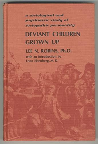 9780683072877: Deviant Children Grown Up