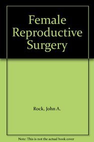 9780683073171: Female Reproductive Surgery