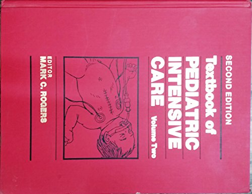 9780683073195: Textbook of Pediatric Intensive Care