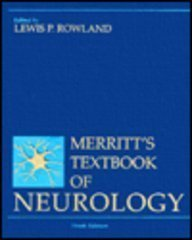 Merritt's Textbook of Neurology: 9th Ed.: Rowland (Ed.) , Lewis P.