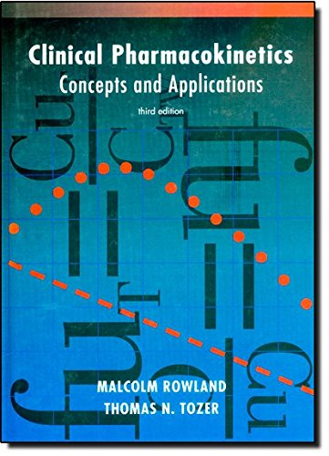 9780683074048: Clinical Pharmacokinetics: Concepts and Applications