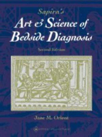 9780683075205: The Art and Science of Bedside Diagnosis