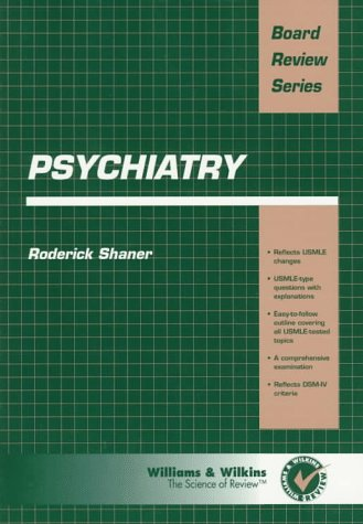 Psychiatry (Board Review Series)