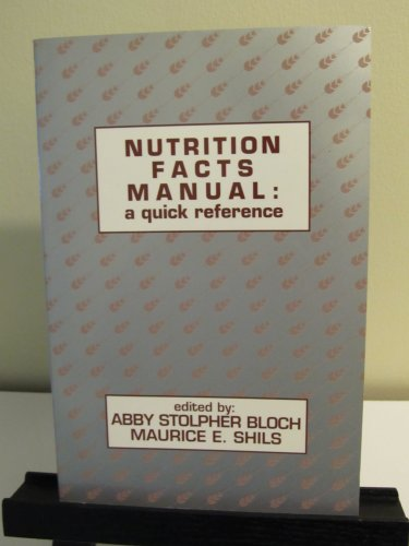 9780683077193: Nutrition Facts Manual: A Quick Reference