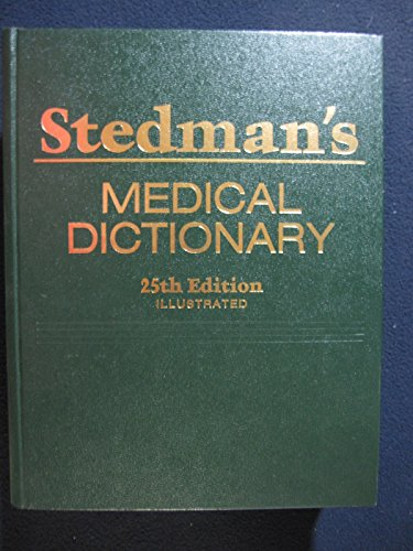 9780683079166: Stedman's Medical Dictionary