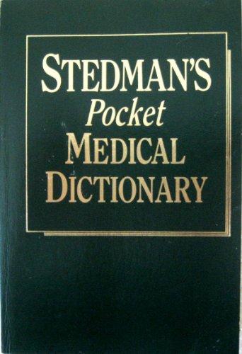 9780683079210: Stedman's Pocket Medical Dictionary