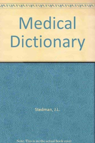 9780683079258: Stedman's Medical Dictionary