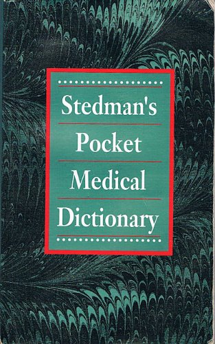 9780683079531: Medical Dictionary (Stedman's Word Books)