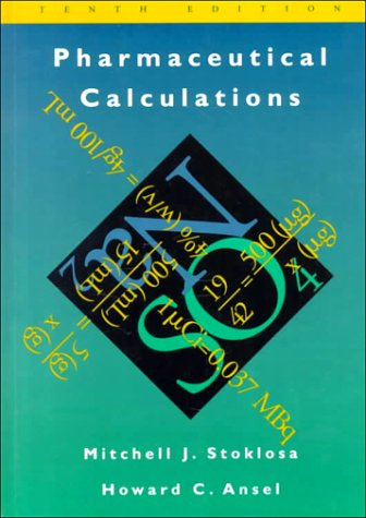 9780683080018: Pharmaceutical Calculations