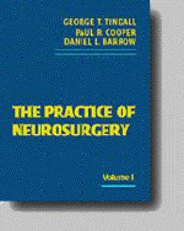 9780683082661: Practice of Neurosurgery (3-Volume Set)