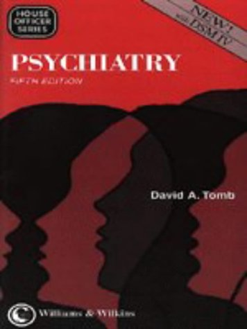 Psychiatry (House Officer): Tomb, David A., M.D.