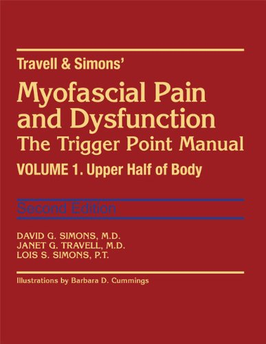 9780683083637: Myofascial Pain and Dysfunction: The Trigger Point Manual; Vol. 1. The Upper Half of Body