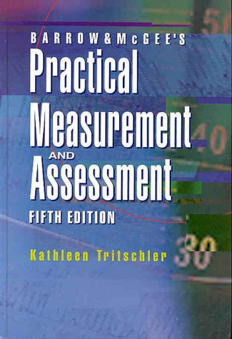 9780683083934: Barrow and McGee's Practical Measurement and Assessment