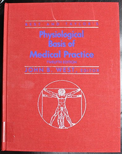 9780683089479: Best and Taylor's Physiological Basis of Medical Practice