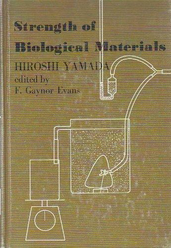 9780683093230: Strength of Biological Materials