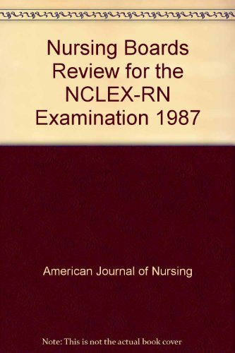 9780683095036: Nursing Boards Review for the NCLEX-RN Examination 1987
