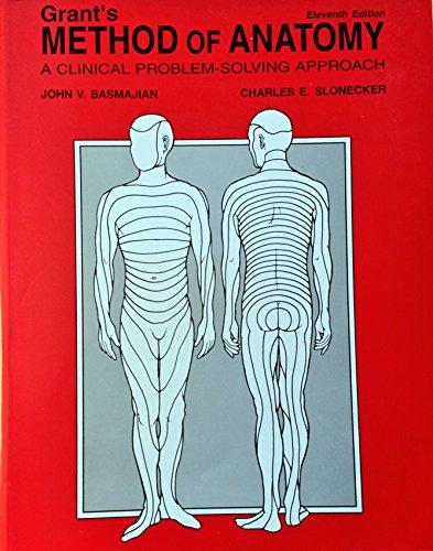 9780683098884: Grant's Method of Anatomy/Ise Edition