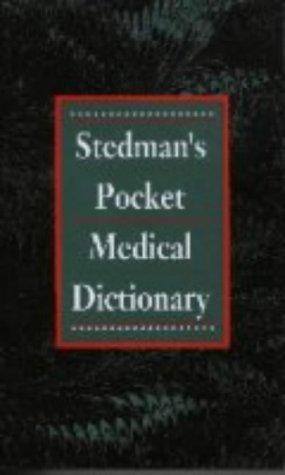 9780683145281: Stedman UK Pocket Dictionary