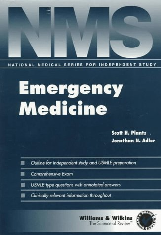 9780683181074: NMS Emergency Medicine (National Medical Series for Independent Study)