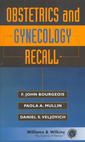 9780683182149: Obstetrics and Gynecology Recall