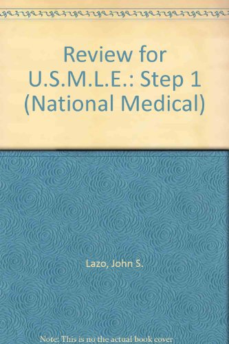 9780683230093: Review for U.S.M.L.E.: Step 1 (National Medical)