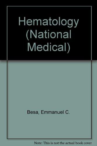 9780683230826: Hematology (National Medical)