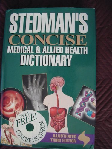 9780683231250: Stedman's Concise Medical & Allied Health Dictionary