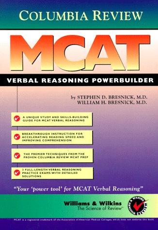 9780683300734: MCAT Verbal Reasoning Powerbuilder