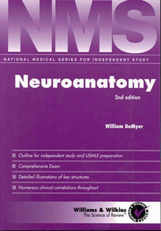 9780683300758: NMS Neuroanatomy (National Medical Series for Independent Study)