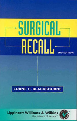 9780683301021: Surgical Recall