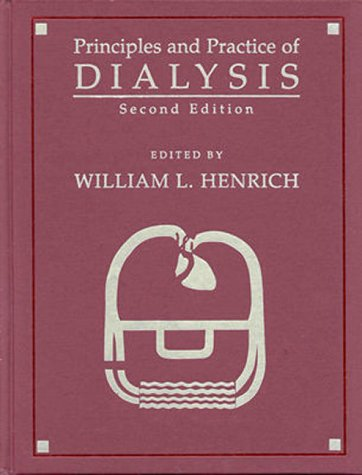 9780683302417: Principles and Practice of Dialysis (Books)