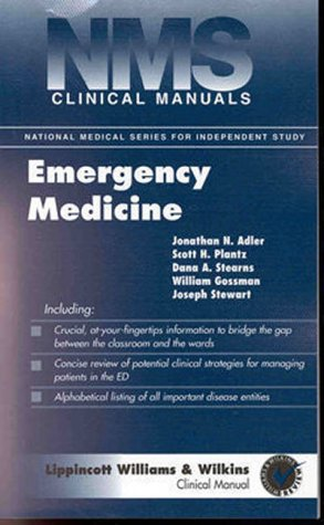 9780683303490: NMS Clinical Manuals: Emergency Medicine