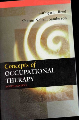 9780683304541: Concepts of Occupational Therapy