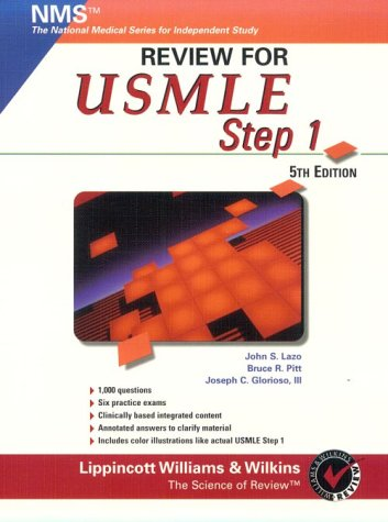9780683304909: Review for Usmle: United States Medical Licensing Examination, Step 1 (National Medical Series for Independent Study)
