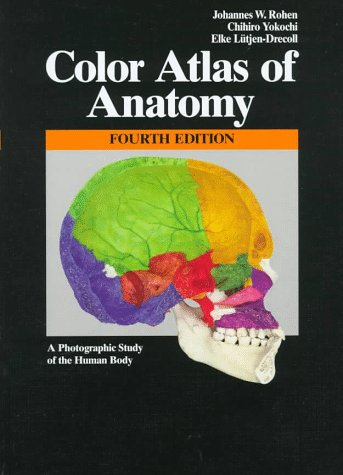 9780683304923: Color Atlas of Anatomy: A Photographic Study of the Human Body
