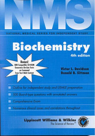 9780683305036: Biochemistry (Book with CD-ROM)
