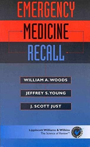 9780683306101: Emergency Medicine Recall (Recall Series)