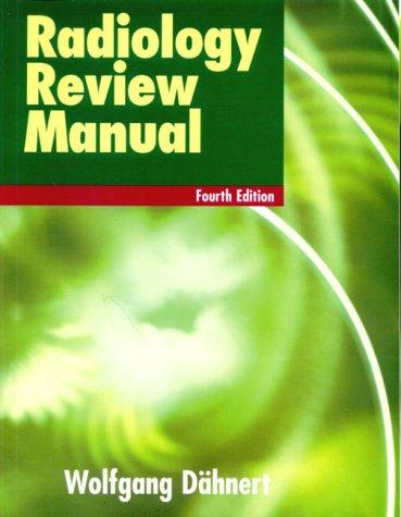 9780683306231: Radiology Review Manual