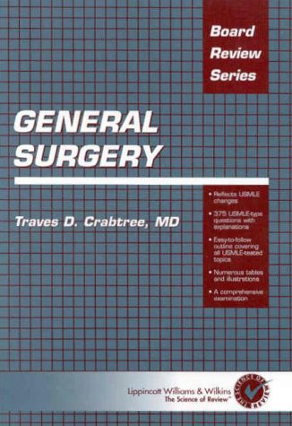 9780683306361: General Surgery (Board Review Series)