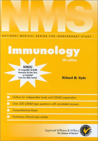 NMS Immunology (National Medical Series for Independent Study): Richard M. Hyde