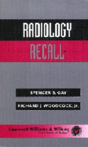 9780683306637: Radiology Recall (Recall Series)
